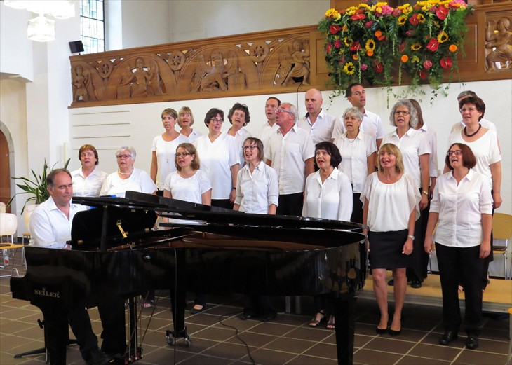 Singers of Joy mit David Kober am Fluegel